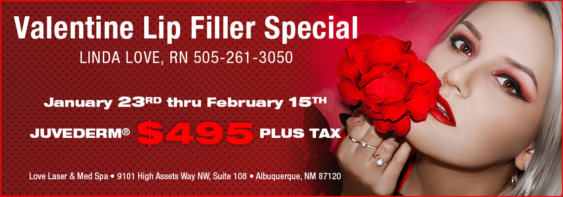 Valentine's Day Lip Filler Special 2020